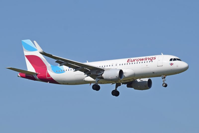 Budget Airlines Eurowings