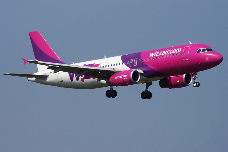 Budget Airlines Wizz Air